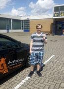 Domenic Günthel hat seinen B Führerschein seit dem 06.06.2020!
