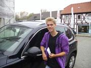 Florian David hat seinen B-Führerschein seit dem 25.10.2013!