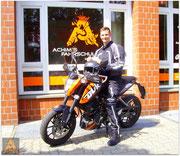 Till Barkofsky hat seinen A1-Führerschein seit dem 08.06.16!