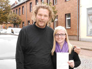 Lisa Kühle hat ihren B-Führerschein seit dem 16.10.13!