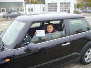 Linda Bulakowski hat ihren B Führerschein seit dem 05.11.2018!