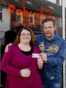 Andrea Schütt hat ihren B-Führerschein seit dem 05.02.14!