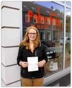 Sanja Meier hat ihren B-Führerschein seit dem 02.07.14!