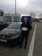 Jörg-Uwe Kurhofer hat seinen BE Führerschein seit dem 17.02.2020!