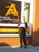 Cornelia Claudia Cholewa hat ihren B-Führerschein seit dem 12.09.16!