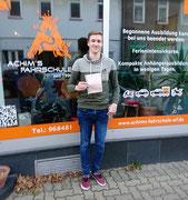 Jakob Rohrig hat seinen B Führerschein seit 24.11.16