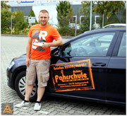 Hendrik Oehme hat seinen B-Führerschein seit dem 30.07.15!