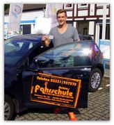 Philipp Fischer hat seinen B-Führerschein seit dem 01.07.14!