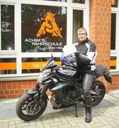 Eike Mank hat seinen A2 Führerschein seit dem 27.06.2017
