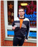 Steven Rabe hat seinen B-Führerschein seit dem 01.12.14!