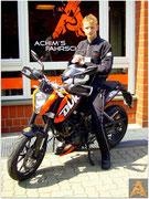 Jonas Schulte hat seinen A1-Führerschein seit dem 24.07.15!