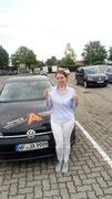 Volha Badylevich hat ihren B Führerschein seit dem 05.08.2019!