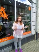 Natascha Schalmann hat ihren B Führerschein seit dem 26.06.2017