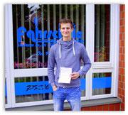 Luca Barkofsky hat seinen B-Führerschein seit dem 15.04.14!