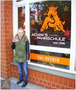 Justine Groeschel hat ihren B-Führerschein seit dem 14.12.15!