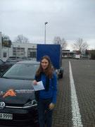 Anna Sophie Hochhäusler hat ihren BE Führerschein seit dem 09.01.2020!
