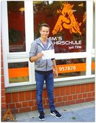 Dennis Sommerfeld hat seinen B-Führerschein seit dem 31.08.15!