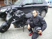 Halil Akkus hat seinen A-Führerschein seit dem 25.09.13!