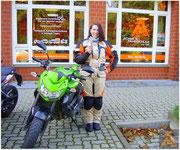 Madlyn-Sophie Weye hat ihren A-Führerschein seit dem 26.10.15!