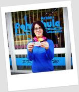 Jana Kiene hat ihren B-Führerschein seit dem 07.03.14!