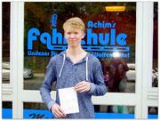 Dennis Müller hat seinen B-Führerschein seit dem 16.04.15!