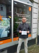 Michael Lühr hat seinen B Führerschein seit dem 06.12.2019!