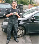 Babi Mamduh hat seinen B Führerschein seit dem 13.01.17