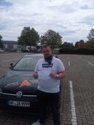Oliver Weigelt hat seinen B Führerschein seit dem 24.07.2020!