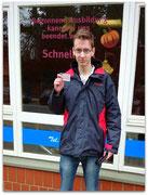 Adrian Meier hat seinen B-Führerschein seit dem 28.11.14!