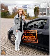 Maria Künne hat ihren B-Führerschein seit dem 18.11.15!