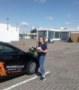 Celine Böttger hat ihren B Führerschein seit dem 06.06.2020!