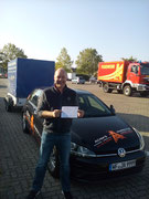 Heiko Buhr hat seinen BE Führerschein seit dem 22.09.2020!