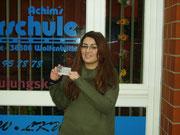 Yasemin User hat ihren B-Führerschein seit dem 22.11.13!