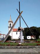 Skulptur mit Springbrunnen