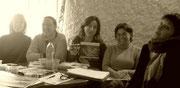 Amélie, Ingrid, Maria, Katia et Martine en formation Pays Cathare