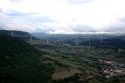 Das Viadukt von Millau....gigantischer Blick