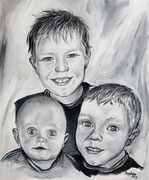 Portraitmalerei - Portrait Maler - Portraitbilder - Portraits - Acrylgemälde