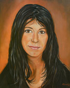 Portraitmalerei - Portrait Maler - Portraitbilder - Portraits - Acrylgemälde - Modern