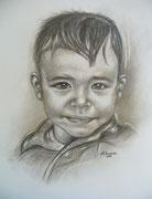 Portraitmalerei - Portrait Maler - Portraitbilder - Portraits - Bleistiftzeichnung - Junge