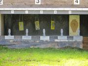 Schützenansicht 25m