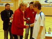 Bester Torschütze Martin Heimerl