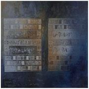 Métamorphose des écritures 100 x 100