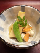 地筍の土佐煮と鯛の子の旨煮