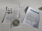 Bauplan mit Bilder CD des Originals