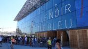Marseille : Le MUCEM, la queue devant l'entrée