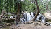 Une des cascades des Sources Vittel