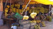 Etal de bananes à Tamri