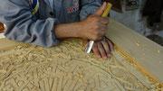 Maître-sculpteur sur bois