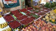 Mais on y vend de belles cerises locales