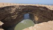 """Le """"Trou du Diable"""", près de Sidi Akhfennir"""